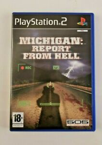 Sony Playstation2  Michigan Report From Hell  PS2 PAL IMPORT CIB EUR VGC