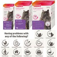 Beaphar CatComfort Calming Diffuser Plug In Refill Spray Anxiety Stress Calm