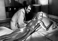 Movie PHOTO 8.25x11.75 James Bond 007 Goldfinger Sean Connery Shirley Eaton 001