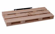 Holz Wandregal in Paletten Optik - 59x23x5 cm - Wandboard Hängeregal Schweregal