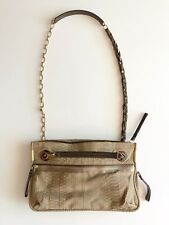 LANVIN Amalia Python Snakeskin Shoulder Crossbody Purse Bag Natural £4,000