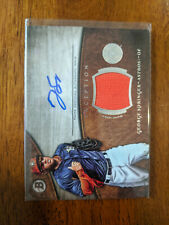 2014 Bowman Inception George Springer Jersey Auto