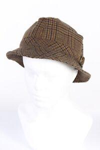 Fashion Lined Winter Hat Warm Winter Wool Blended 90s Vintage Multi - HAT818