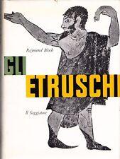 GLI ETRUSCHI RAYMOND BLOCH 1959 IL SAGGIATORE (RA490)
