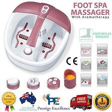 Foot Spa Massager Roller Massage Reflexology Relax Care Relief Pedicure Bath
