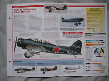Aircraft of the World Card 58 , Group 13 - Aichi D3A 'Val'
