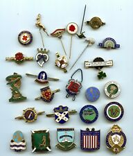More details for collection of bowling badges 27 badges uk & ireland wales usa  ect