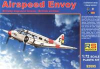 AIRSPEED ENVOY (SOUTH AFRICAN, SPANISH, FRENCH & LUFTWAFFE MKGS) 1/72 RS MODELS