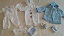 Lot vêtements hiverbébé naissance 1 mois trousseau layette bébé garçon