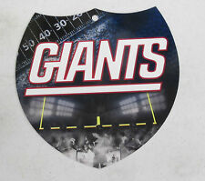 "NFL Football Wall Plastic Interstate Sign 8 x 8"" New York Giants"