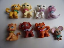LOT D'ANIMAUX POLLY POCKET N°  102  113  114  118  119  129  130  147 -Lot n°8-