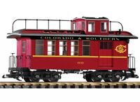 PIKO G SCALE C&S WOOD STYLE DROVERS CABOOSE | BN | 38646