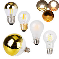 Dimmable LED Edison Screw Light Bulb E27 A60 G45 G125 4W 8W AC 220V Vintage Lamp