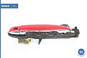 02-10 Lexus Z40 SC430 Left Driver Side Exterior Door Handle 3P0 Absolutely Red