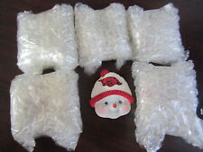 Lot of 6 U Of ARKANSAS Razorbacks Snowman Magnets NEW Christmas