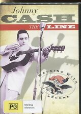 JOHNNY CASH - THE LINE - WALKING WITH A LEGEND - DVD