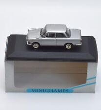 Minichamps BMW 700 LS Sportcoupe in silber lackiert 1:43 , OVP, B301