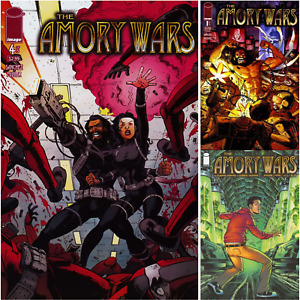Amory Wars U PICK comic 1 2 3 4 5 2007 2008 vol I II Image Claudio Sanchez
