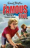Five on a Treasure Island (Famous Five) by Enid Blyton, Good Book (Paperback) Fa