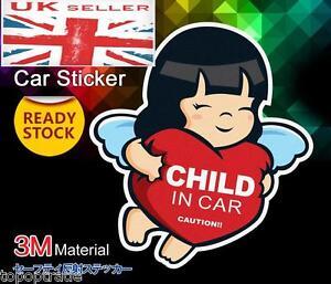 Baby on Board / in Van Windscreen Body Panel Bumper Car Sign Transfer Sticker
