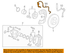Chevrolet GM OEM 13-15 Spark ABS Anti-lock Brakes-Front Speed Sensor 95937222
