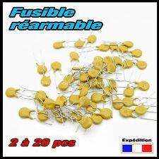 912-050# fusible réarmable 500mA (0,5A) déclenchement 1A