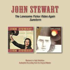 JOHN STEWART - LONESOME PICKER RIDES AGAIN/SUNSTORM   CD NEU
