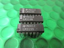 LM319N, LM319, doppio ad alta velocità comparatore UK STOCK * 2 per * £ 1.75ea consegnato!