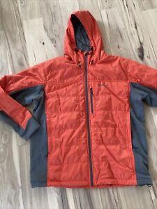 Simms Kinetic Jacket Fury Orange Size XL New w Tags Primaloft Insulation
