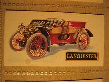 LANCHESTER 12HP 4l 1903 BROOKE BOND TEA CARD History of Motor Car # 8
