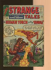 Strange Tales 116 GD 2.0 * 1 * Thing VS Human Torch! Dr. Strange! Steve Ditko!