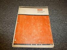 Case 1530B Uniloader Skid Steer Loader Original Parts Catalog Manual Manual 1197