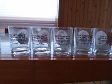 10 The Saturday Evening Post Glass Tumblers By Norman Rockwell