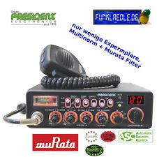 President Jackson II AM/FM/SSB CB-Funkgerät mit Multinorm Technik  Murata Filter
