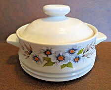 HEAVENLY BAKE SERVE 'N STORE STONEWARE INDIVIDUAL CASSEROLE WITH LID