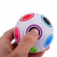 Regenbogen Magic Ball Cube Twist Puzzle Kinder Pädagogisches Spielzeug st