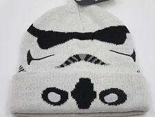 Star Wars Stormtrooper White Cuff Beanie Ski Skate Hipster Cap Winter Hat SALE