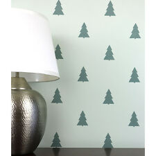 Fir Trees Allover Stencil - Modern Wall Pattern Stencils - Fun DIY Home Decor!