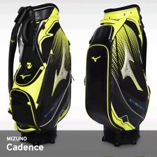 Mizuno 2018 Cadence CB Men's Caddie Bag Cart 9.5In 3.5Kg PU Free EMS Black/Lime
