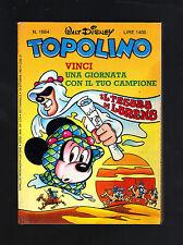 TOPOLINO N° 1664 - 18 OTTOBRE 1987