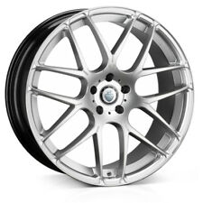 "19"" CADES BERN ACCENT ALLOY WHEELS FITS VW GOLF PASSAT CADDY EOS SEAT SILVER"