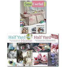 Sew Useful and Half Yard Easy Sewing Project Debbie Shore Collection 3 books Set
