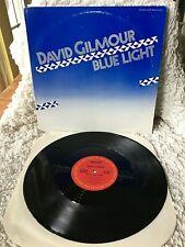 "DAVID GILMOUR VINYL blue light LP 12"" single PROMO 1st Press PINK FLOYD guitaris"