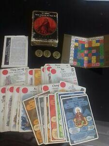YI-KING – Tarot oriental de Paul IKI – GRIMAUD Ref G 255 cartomancie france 1981