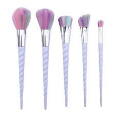 5pcs/set Unicorn Cosmetic Makeup Brush Tool Set Foundation Eyeshadow Lip Brushes