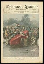 Race Car Crushed into Crowd during Race in Detroit Injuring 50 - DDC Cover 1925