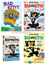 BAD KITTY Meets the Baby,For President & School Daze Box Set with Stickers NEW