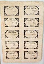 10 ASSIGNAT DE CINQ LIVRES. SÉRIE 21932. FRANCE. 10 BRUMAIRE II. 31 OCTOBRE 1793