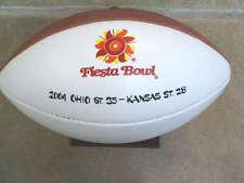 FIESTA BOWL TEAM PLAYER FOOTBALL - 2004 - OHIO STATE KANSAS ST. - RARE