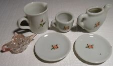 Vintage mixed Lot Japan Miniature Tea Set- Asst'd Post WWII Rose Design w/BONUS